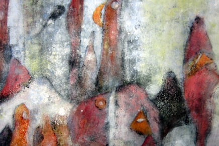abstrakti ekspressionismi kotitehtävienaiheena