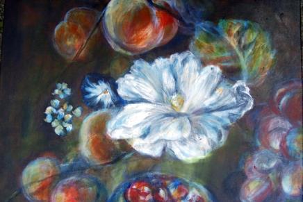 kukkamaalaus jatkuu