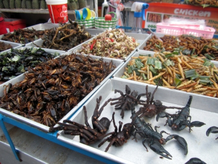 eksoottinen tervehdys bangkokista