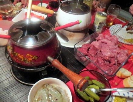fonduepatoja uuden vuodenaattona
