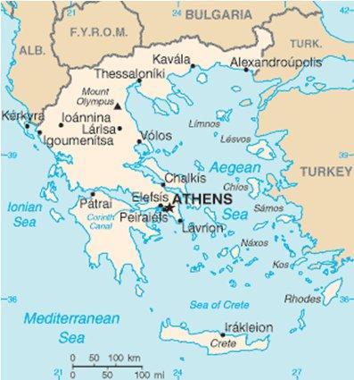Rodos Kreikka Sijainti Kartta Hikipisarat