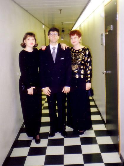 LINNAN JUHLAT 1994, MARJO LUNDVALL, ASKO RANTAKOSKI JA MINÄ