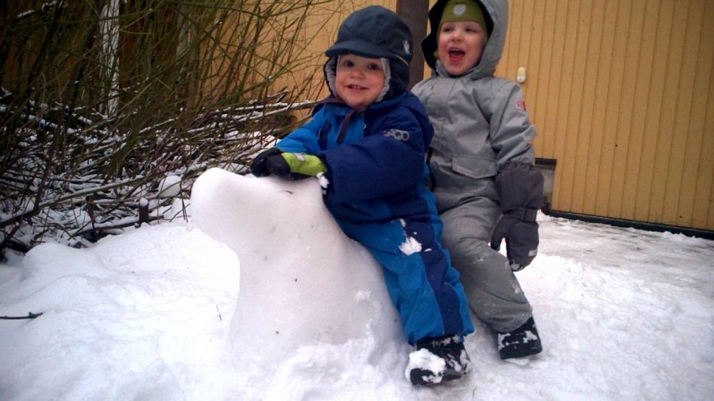 Lumiporsaan kyydissä kohti kevättä!