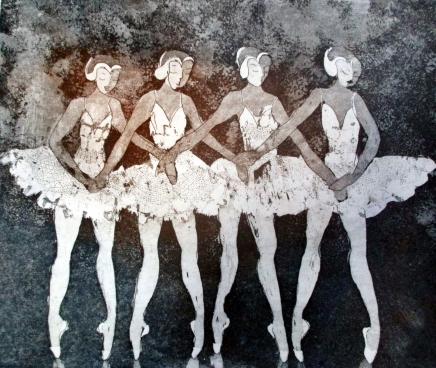 pienten joutsenten tanssi