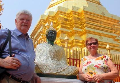 kuninkaallista ja buddhalaistaloistoa