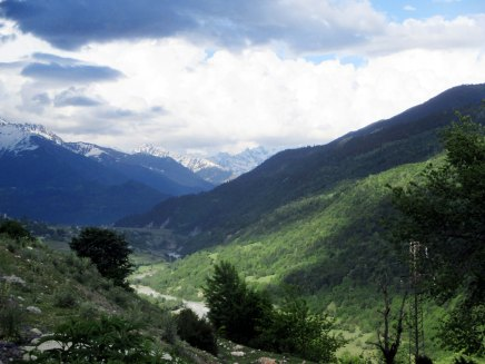kaukasusvuoristossa