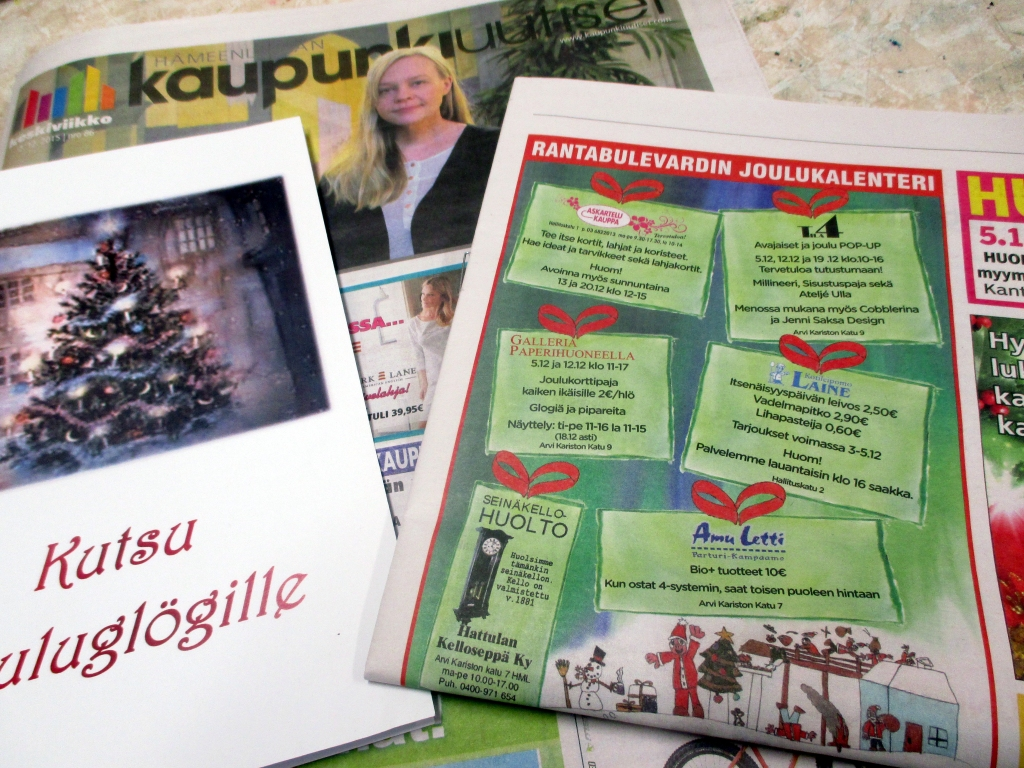 MAINOSTIMME TEMPAUSTA KAUPUNKIUUTISISSA