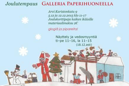 joulukorttipaja galleria paperihuoneella