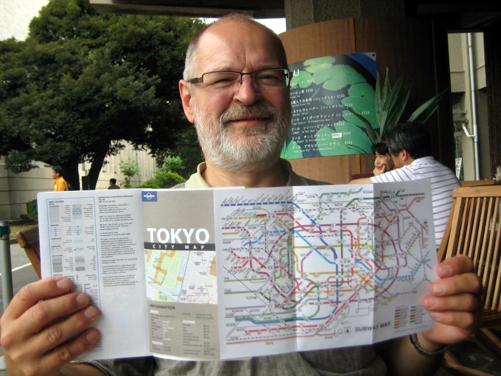 TOKION LIIKENNEKARTTA