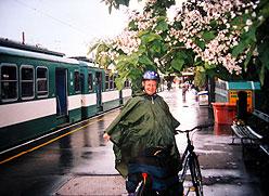 polkupyörillä unkarissa kesällä2001