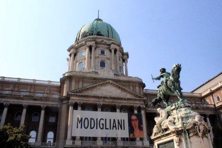modiglianin näyttely budanlinnassa