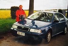 ensimmäiset kotisivuni – autolla euroopassa2000