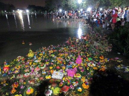 bangkokissa lyhtyjuhlissa