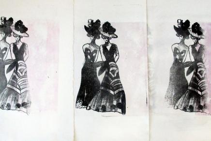 litografiaharjoituksia