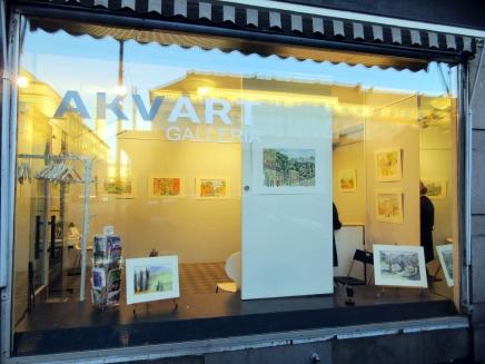 nazzanon akvarellit esillä lokakuussa akvart-galleriassa helsingissä