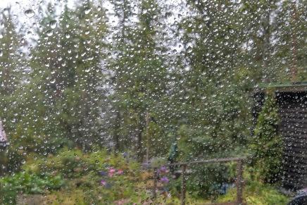 sadepäiviä